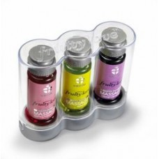 KIT 3 ACEITES MASAJE FRUITY LOVE 50ML SWEDE