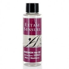 EXTASE SENSUEL FEROMON HOT OIL ATTRACTION EFFECT 100 ML BLACKBERRY
