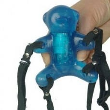 HARNESS BLUE BUNNY STIMULATOR