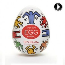 TENGA EGG DANCE EASY ONA-CAP BY KEITH HARING