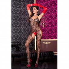 FLORAL LACE BODYSTOCKING QUEEN