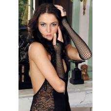MATAINE  TRIANGLE NET FINGERLESS GLOVES