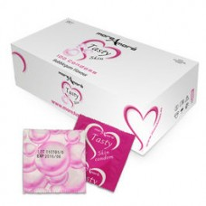 GUM FLAVORED CONDOMS MOREAMORE BOX 100 UNITS