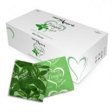 CONDOMS MOREAMORE REFRESHING MINT FLAVOR Box 100 pcs.