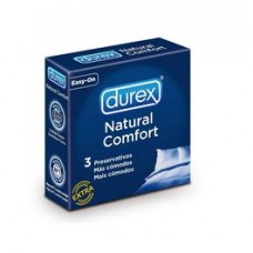 DUREX NATURAL CONFORT 3 UNIDADES