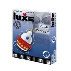 LUXE CONDOM ROYAL EXPRESS 1PC