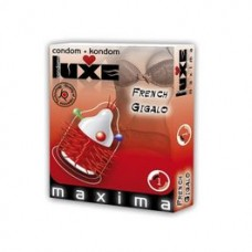 LUXE CONDOMS FRENCH GIGALO 1UD