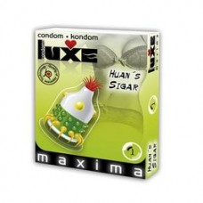 LUXE CONDOMS HUANS SIGAR 1UD